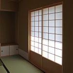 photo:茶室のある家 完成検査